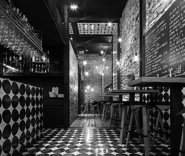 imagen proyecto saestudio Coruña: Bar Alma Negra