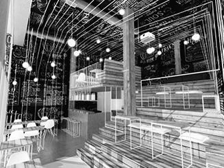 imagen proyecto saestudio Coruña: Bar BE