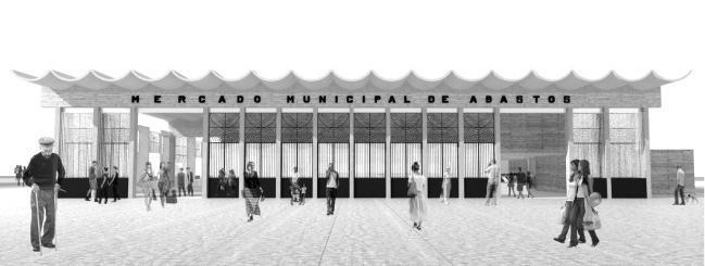 imagen proyecto saestudio Coruña: Mercado en Roquetas