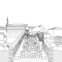 imagen proyecto saestudio Coruña: Puente medieval de Furelos